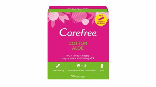 Carefree Cotton Aloe 56 Stück