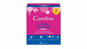 Carefree Cotton Flexiform Frischeduft 56 Stück