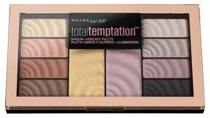 MAYBELLINE NEW YORK Total Temptation Lidschatten-Palette