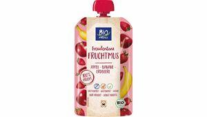 BIO PRIMO Fruchtmus Freudentanz Apfel Banane Erdbeere