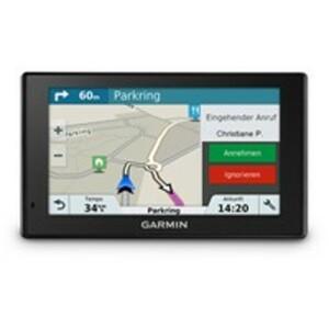 Garmin Drive™ 5 PLUS MT-S EU Navigationsgerät inkl.Live Traffic Infos, TripAdvisor und Foursquare, WLAN Update Funktion, Bluetooth und Kartenupdates für Europa (46 Länder)
