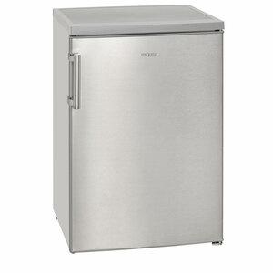 Exquisit Kühlschrank mit 4*-Gefrierfach KS 16-1 A+++ Inox look