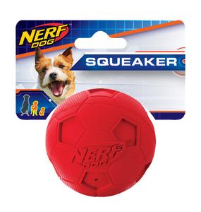 Nerf Dog Fussball mit Quietsch S