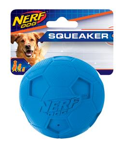 Nerf Dog Fussball mit Quietsch M