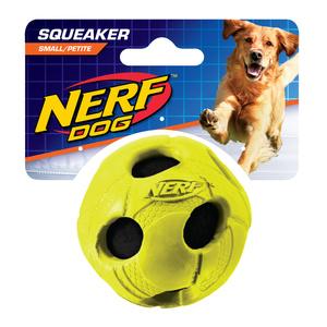 NERF Dog Tennisball gummiummantelt Gr. S grün/blau
