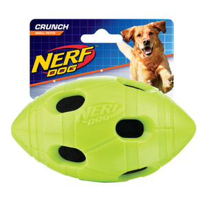 Nerf Dog Crunch Football S