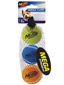 NERF Dog Tennisbälle 3er megastark 5,1cm
