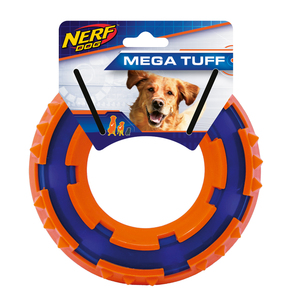 NERF Dog TPR Spike Ring 15cm blau/orange