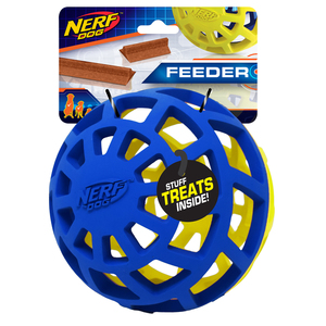 NERF Dog Exo Ball 13cm blau/grün