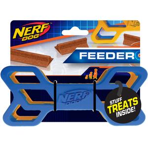 NERF Dog Exo Knochen 15cm blau/orange