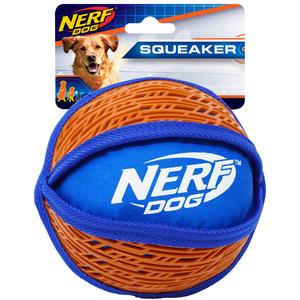 NERF Dog Force Grip Ball 15cm rot/blau