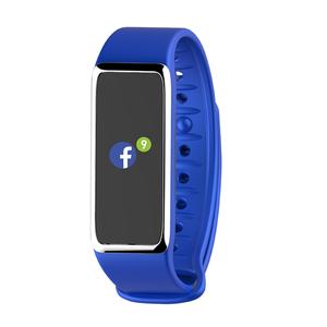 MyKronoz ZeFit3, Wristband Activity Tracker 2,69cm (1,06 Zoll), IP67, TFT, 160x64 Pixel, Farbe: Blau