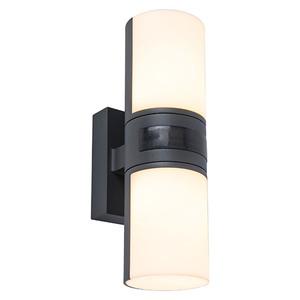 Lutec Sensor-LED-Außenwandleuchte Cyra