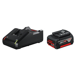 Bosch Professional Akku & Ladegerät Starter-Set GAL 18V-40 / GBA 18V 4 Ah