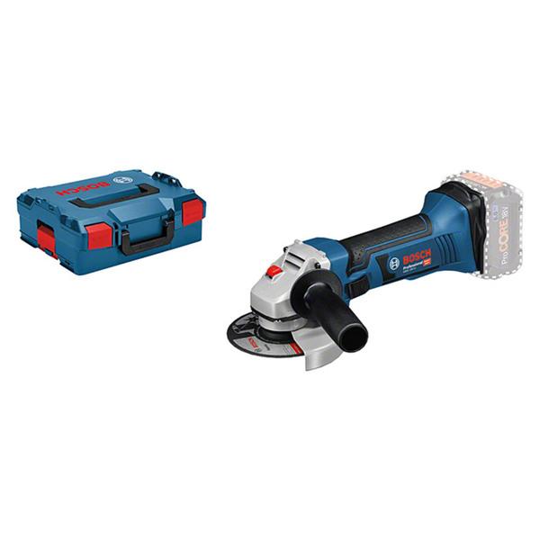 Bosch Professional Akku-Winkelschleifer GWS 18-125 V-LI L-Boxx