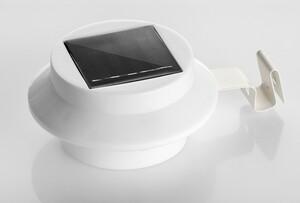 I-Glow LED-Solar-Dachrinnen-Licht 3er Set, weiß