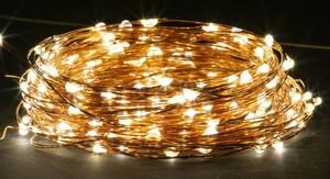 EZSolar LED Solar Lichterkette, warmweiß