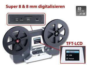 Somikon Filmscanner Digitalisierer