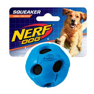 NERF Dog Tennisball gummiummantelt Gr. XS rot/blau