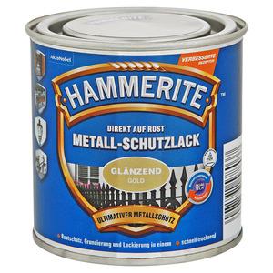 Hammerite Metallschutzlack 'Direkt auf Rost' gold glänzend 250 ml