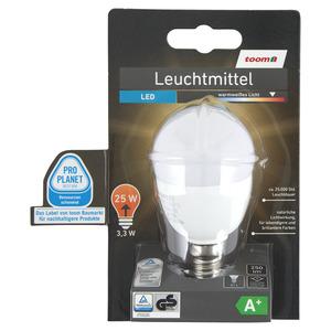toomEigenmarken -              toom LED-Leuchtmittel E14 250 lm 3,3 W warmweiß