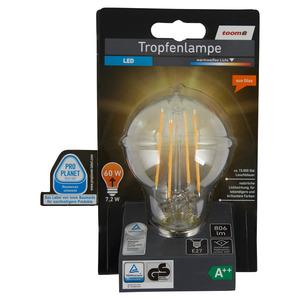 toomEigenmarken -              toom LED-Tropfenlampe E27 806 lm 7,2 W warmweiß
