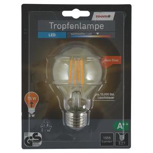 toomEigenmarken -              toom LED-Tropfenlampe E27 1055 lm 8 W warmweiß