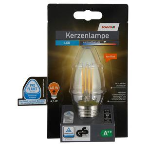 toomEigenmarken -              toom LED-Kerzenlampe E27 470 lm 4,5 W warmweiß