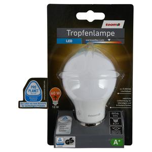 toomEigenmarken -              toom LED-Tropfenlampe E27 806 lm 10 W warmweiß