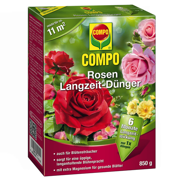 Compo -              Compo Rosen-Langzeitdünger 0,85 kg