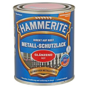 Hammerite Metallschutzlack 'Direkt auf Rost' rot glänzend 750 ml
