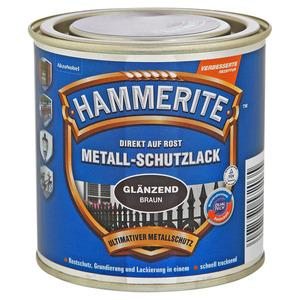 Hammerite Metallschutzlack 'Direkt auf Rost' braun glänzend 250 ml