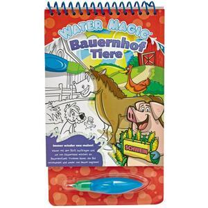 IDEENWELT Water Magic Wassermalbuch Bauernhof Tiere