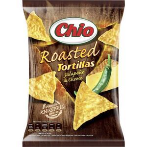 Chio Roasted Tortillas Jalapeño & Cheese 1.35 EUR/100 g