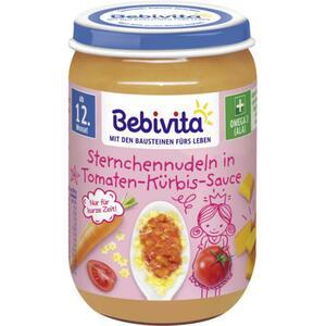 Bebivita Sternchennudeln in Tomaten-Kürbis-Sauce 0.38 EUR/100 g (6 x 250.00g)