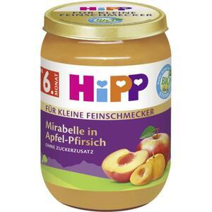 HiPP Bio Mirabelle in Apfel-Pfirsich 0.61 EUR/100 g (6 x 190.00g)