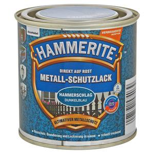 Hammerite Metallschutzlack 'Direkt auf Rost' dunkelblau Hammerschlag-Effekt 250 ml