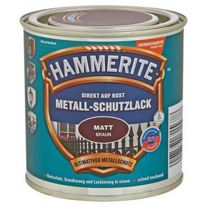 Hammerite Metallschutzlack 'Direkt auf Rost' braun matt 250 ml