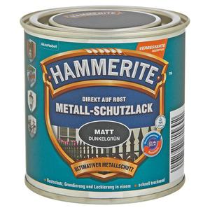 Hammerite Metallschutzlack 'Direkt auf Rost' dunkelgrün matt 250 ml