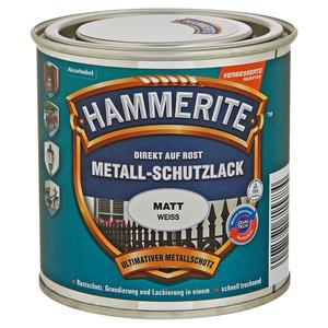 Hammerite Metallschutzlack 'Direkt auf Rost' weiß matt 250 ml