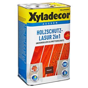 Xyladecor Holzschutzlasur 2in1 palisanderfarben 2,5 l