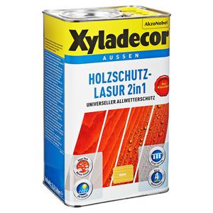 Xyladecor Holzschutzlasur 2in1 kieferfarben 2,5 l