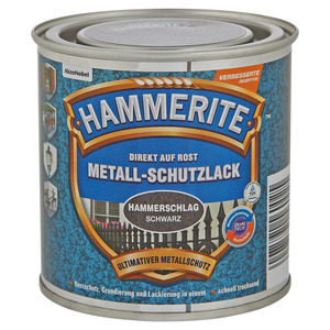 Hammerite Metallschutzlack 'Direkt auf Rost' schwarz Hammerschlag-Effekt 250 ml