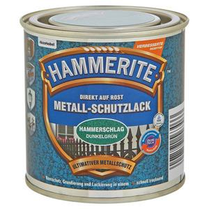 Hammerite Metallschutzlack 'Direkt auf Rost' dunkelgrün Hammerschlag-Effekt 250 ml