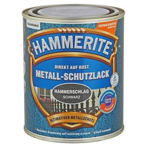 Hammerite Metallschutzlack 'Direkt auf Rost' schwarz Hammerschlag-Effekt 750 ml