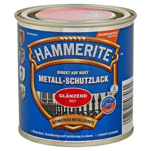 Hammerite Metallschutzlack 'Direkt auf Rost' rot glänzend 250 ml