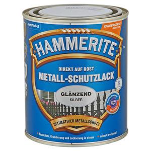 Hammerite Metallschutzlack 'Direkt auf Rost' silbern glänzend 750 ml