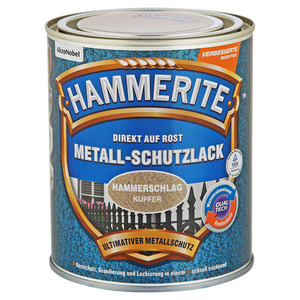 Hammerite Metallschutzlack 'Direkt auf Rost' kupferfarben Hammerschlag-Effekt 750 ml