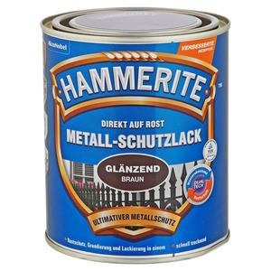 Hammerite Metallschutzlack 'Direkt auf Rost' braun glänzend 750 ml