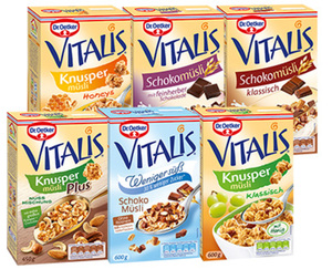 Dr. Oetker VITALIS®  Müsli
